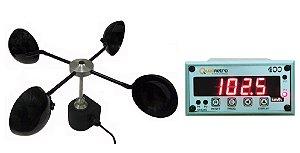 Anemômetro Estacionário Com indicador Digital Modelo AN-1