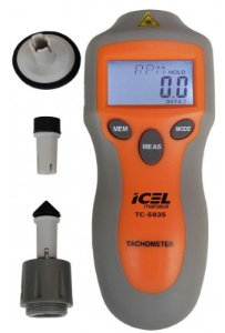 Tacômetro Digital Optico e Contato Modelo TC-5035