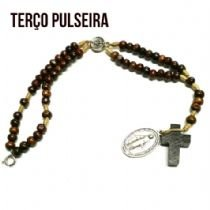 TERÇO PULSEIRA N SRA GRACAS - 3MM