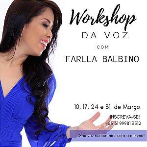 Workshop da Voz com Farlla Balbino