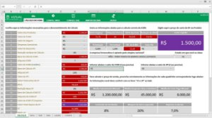 Planilha de Conferência do ICMS-ST Fiscal para Autopeças em Excel 6.0