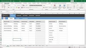 Planilha de Plano de Cargos e Salários em Excel 4.0