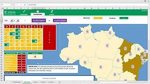 Planilha de Controle de Feriados (Brasil) em Excel 6.0