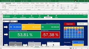 Planilha de Acompanhamento de Vendas e Clientes em Excel 6.0
