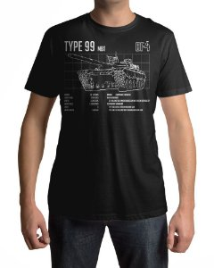 Camiseta BF4 Battlefield 4 TYPE-99