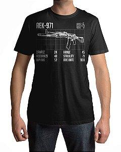 Camiseta BF4 Battlefield 4 AEK-971