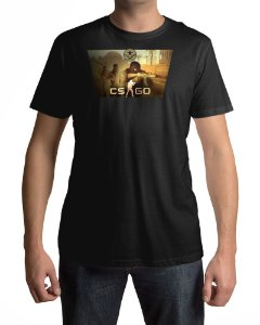 Camiseta CS:GO Counter-Strike Terroristas