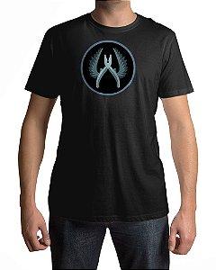 Camiseta CS:GO Counter-Strike Símbolo Contra-terroristas