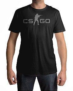 Camiseta CS:GO Counter-Strike Logo