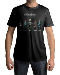 Camiseta R6 Rainbow Six Siege Perfect Assault Team