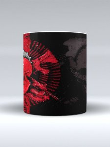 Caneca Gears of War Skull