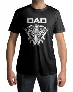 Camiseta  DAD FPS Gamer PRO Player
