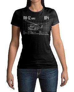 Camiseta BF4 Battlefield 4 AH-1Z Viper