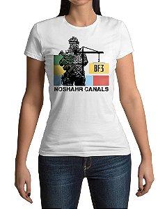 Camiseta BF3 Battlefield 3 Noshahr Canals
