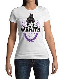 Camiseta APEX Legends Wraith Fenda Dimensional