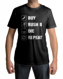 Camiseta CS:GO Counter Strike Loop