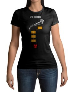 Camiseta BFV Battlefield V M30 Drilling