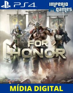 FOR HONOR- PS4 - MÍDIA DIGITAL