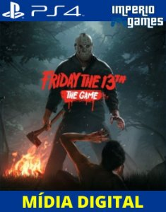 FRIDAY THE 13TH- THE GAME - PS4 - MÍDIA DIGITAL