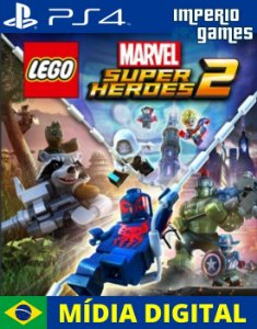 LEGO MARVEL SUPER HEROES 2- PS4 - MÍDIA DIGITAL