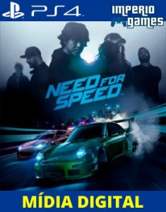 NEED FOR SPEE- PS4 - MÍDIA DIGITAL