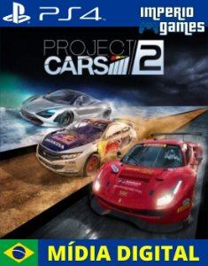 PROJECT CARS 2- PS4 - MÍDIA DIGITAL