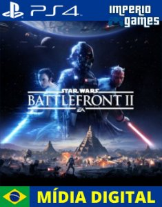 STAR WARS BATTLEFRONT II- PS4 - MÍDIA DIGITAL