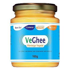 Manteiga Vegetal Vegana s/ Sal VeGhee - 160g