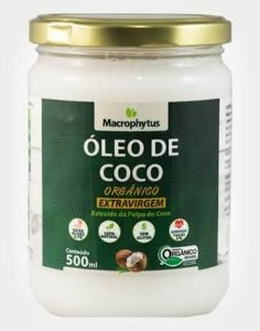 Óleo de Coco Extravirgem Orgânico Macrophytus - 500ml