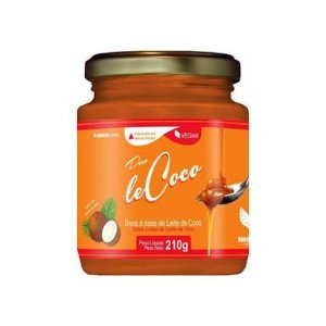 Doce de Leite Vegano Le Coco Natural Science - 210g