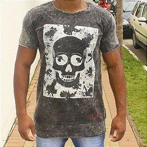 Camiseta Effel L Square Skull