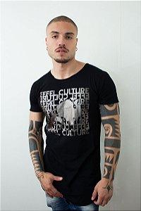 Camiseta Effel Letters Bisão Filled