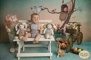 Headbnd de coelho menino