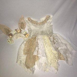 Vestido  vintage renda Clara