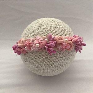 Headband vintage floral