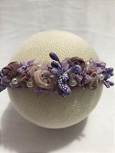 Headband Vintage Floral Maju