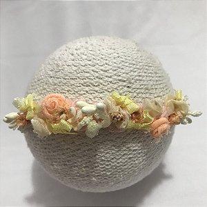 Headband vintage Floral Estela