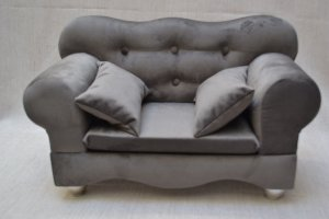 Sofá acompanha almofada