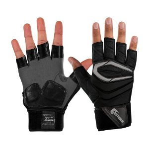 Luva Cutters The Force 2.0 Half-Finger Lineman - Adulto