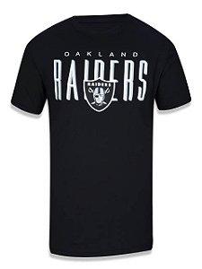 Camiseta NFL Oakland Raiders New Era - Preta