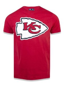 Camiseta NFL Kansas City Chiefs New Era - Vermelha