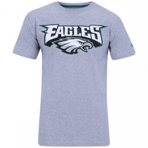 Camiseta NFL Philadelphia Eagles New Era - Mescla Cinza