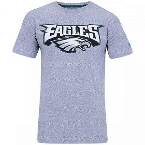 a4151004399f5 Camiseta NFL Philadelphia Eagles New Era - Mescla Cinza
