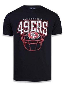 Camiseta NFL San Francisco 49ers New Era - Preta