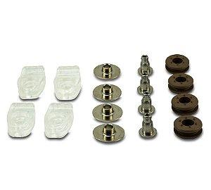 Kit de Presilhas para Facemask Riddell SpeedFlex Quick Release