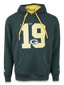 Moleton Fechado NFL Green Bay Packers New Era - Verde
