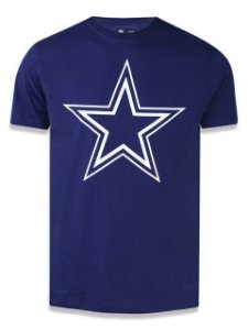 Camiseta NFL Dallas Cowboys New Era - Azul Marinho