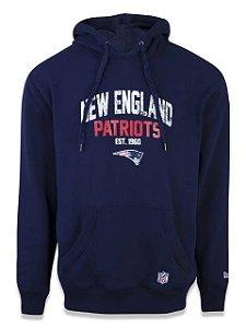 Moleton Fechado NFL New England Patriots New Era - Azul Marinho