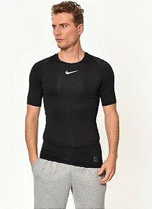 Camiseta de Compressão Nike Pro Manga Curta