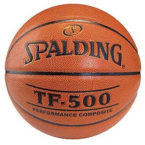 Bola de Basquete Spalding TF-500 Couro Tamanho 7